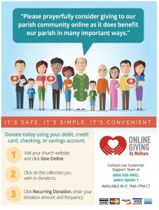 Online Giving Brochure for WeShare